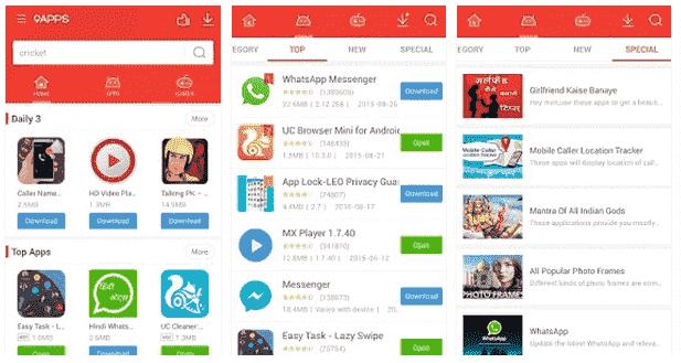 Kelebihan 9Apps, Store Terbaik Tempat Download Aplikasi Berbayar Menjadi Gratis