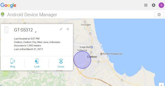 Cara membuka kata sandi Hp dengan android device manager