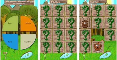 Game untuk Mengasah Perkembangan Otak Anak Animal Matching Game (Sound) apk