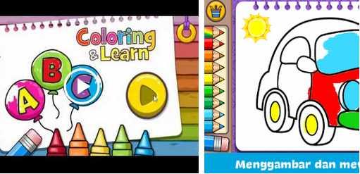 Game untuk Mengasah Perkembangan Otak Coloring & Learn apk