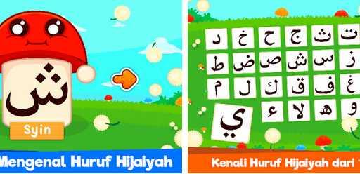 Game untuk Mengasah Perkembangan Otak anak Marbel Belajar Hijaiyah + Suara