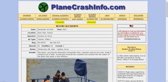 Situs Terlarang Korban Jaruhnya Pesawat