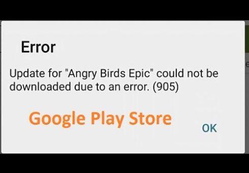 Cara Mengatasi Error kode 905 Google Play Store