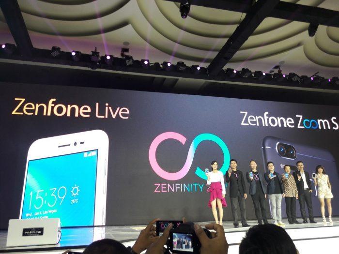 Akhirnya Asus Zenfone Live Dan Zenfone Zoom S Rilis Di Indonesia