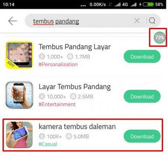 Downlooad Aplikasi Kamera Tembus Pandang Iphone