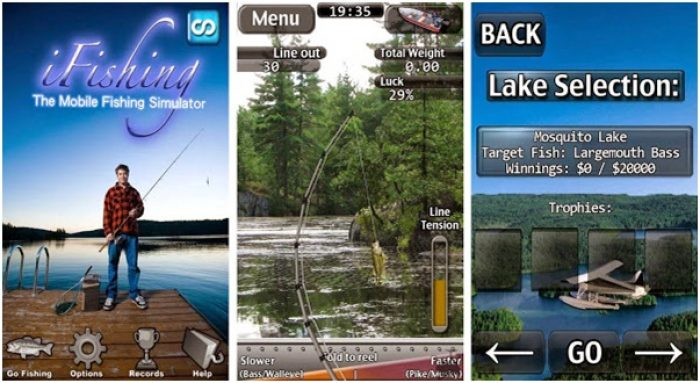 Game memancing ikan terbaik android I Fishing Lite