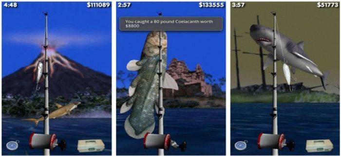 Game memancing ikan terbaik android Big Sport Fishing 3D