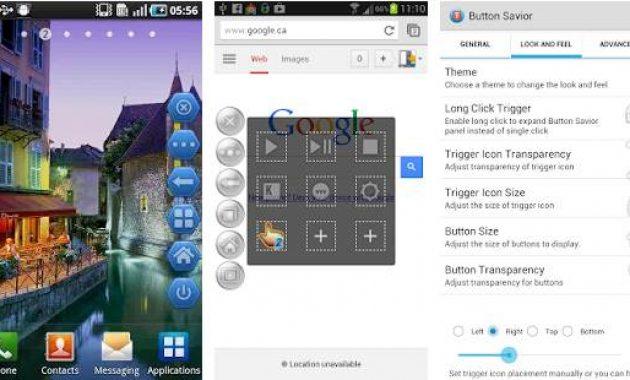 Aplikasi Pengganti Tombol Rusak Aplikasi Tombol Navigasi Android