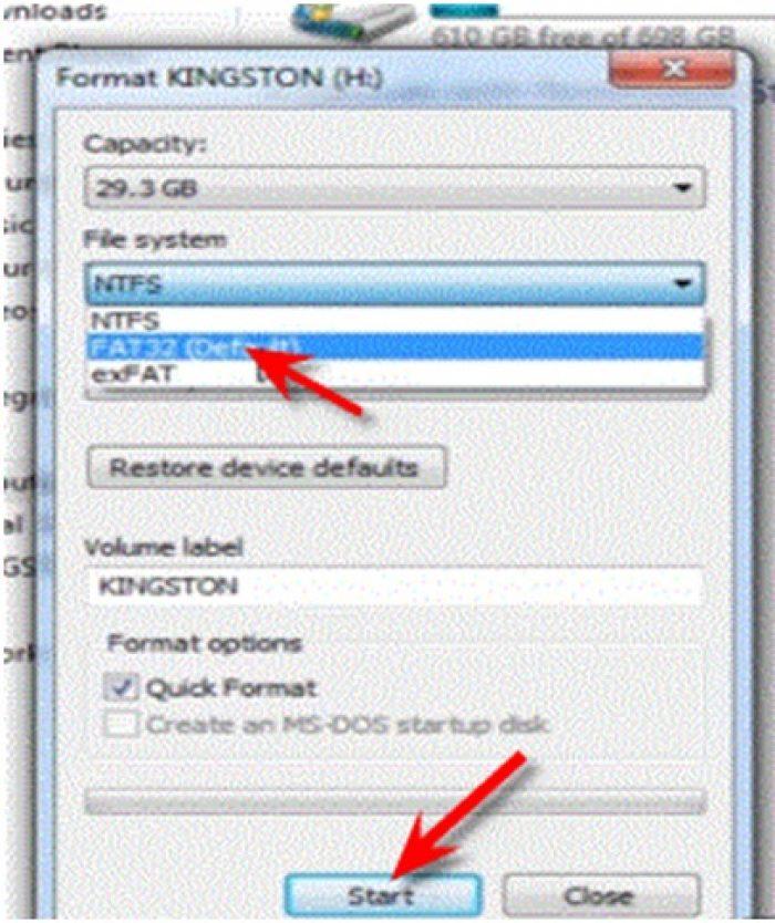 Cara Mengatasi USB OTG tidak terbaca FAT 32