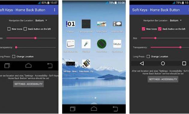 Aplikasi Pengganti Tombol Rusak Aplikasi Tombol Home Android Seperti Iphone