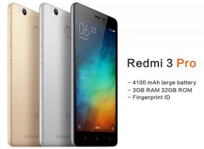Hp Android RAM 3GB Harga Murah 1 Jutaan Redmi 3 Pro