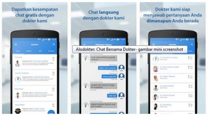 Aplikasi Konsultasi Dokter Terbaik Alo Dokter