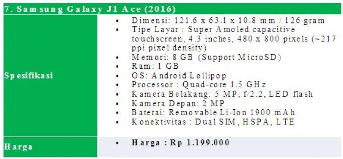 Daftar Hp Samsung Galaxy 4G LTE Cuma 1 Jutaan