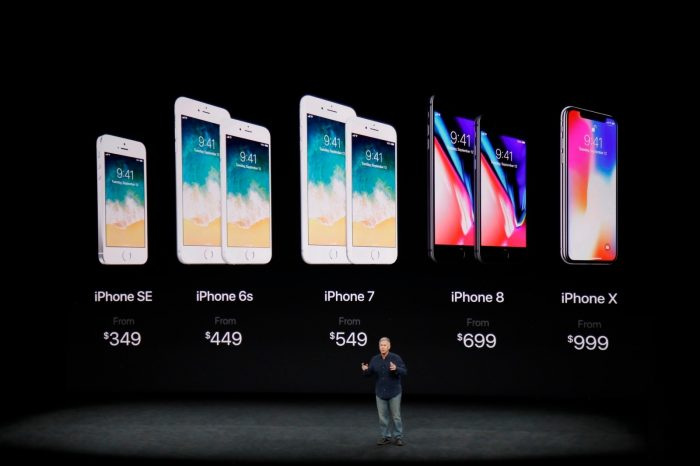 Apple iPhone X Resmi Dirilis, ini Harga dan Spesifikasi Lengkapnya