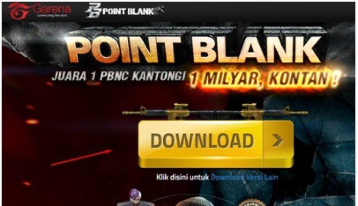 CARA DOWNLOAD DAN INSTALL POINT BLANK Garena FOR PC/laptop