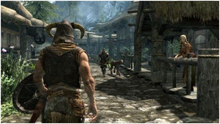 Game Kerajaan Offline PC The Elder Scrolls V : Skyrim