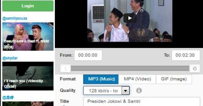 Cara Download Video Youtube Tanpa Aplikasi Tambahan format MP3