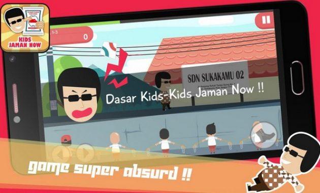 Game Kids Jaman Now Lebih Kocak dari Meme, Bisa Sleding Generasi Micin!