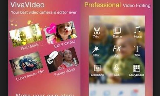 Aplikasi Viva Video made with vivavideo