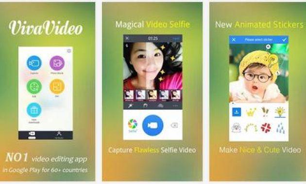 Aplikasi Viva Video, Video Editor Apk yang Cocok Untuk Android dan PC