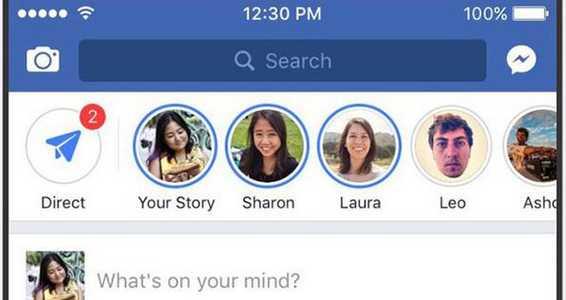 Fitur Keren Facebook Terbaru Berbagi Cerita
