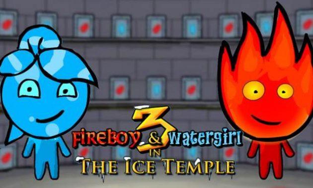 Game Fireboy & Watergirl 3: Kuil Es