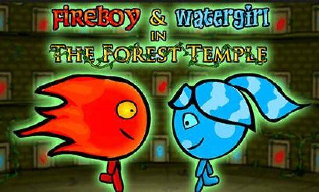 Game Air dan Api Game Fireboy dan Watergirl Kuil Hutan