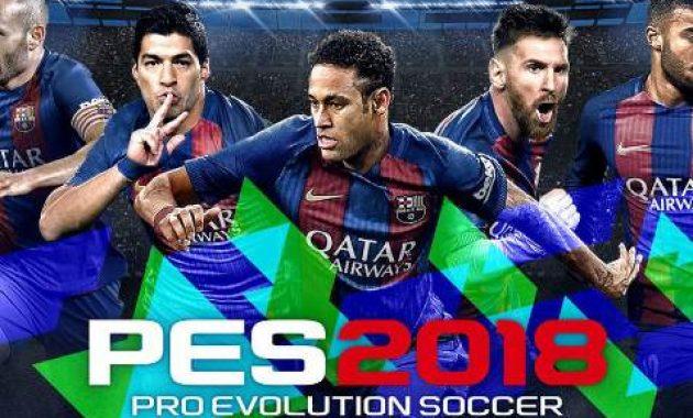 Game Pro Evolution Soccer 2018 (PES18) Original