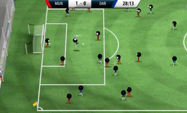 Game Sepak Bola Offline Game Stickman Soccer 2016
