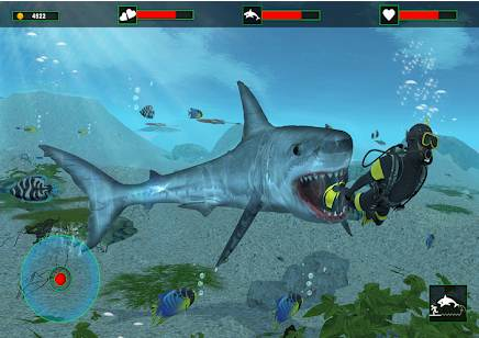 Game ikan hiu permainan ikan makan ikan