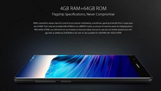 Harga dan Spesifikasi Lengkap Umidigi Crystal, Smartphone Full Screen Display Terbaik Harga Paling Murah