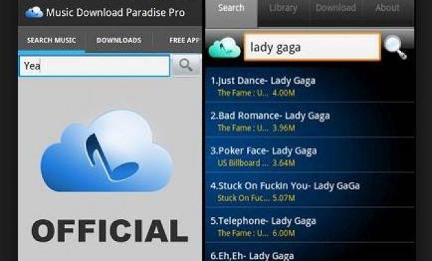 aplikasi untuk mendownload lagu cara download lagu