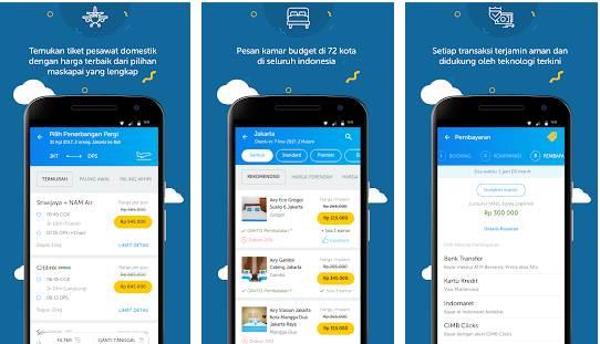 aplikasi untuk pesan hotel terbaik