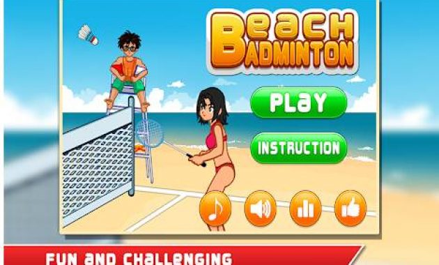 Game Bulutangkis Game Badminton Pc