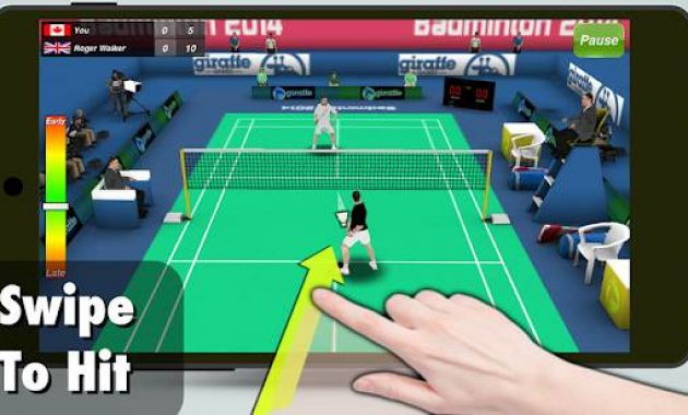 Game Bulutangkis Game Badminton Android Game Badminton 3d