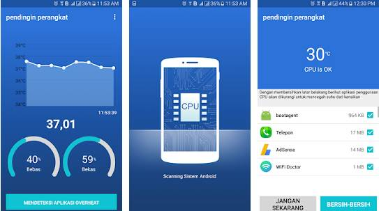 Alat Pendingin HP cara mendinginkan hp android yang cepat panas