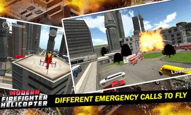 Game Pemadam Kebakaran Terbaik Android Helikopter Pemadam Kebakaran
