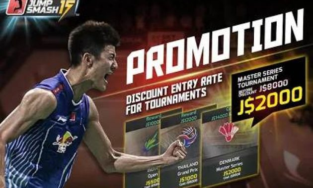Game Bulutangkis Download Game Badminton Jump Smash