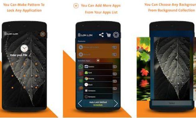 Aplikasi Pengunci Layar Android Tanpa Tombol