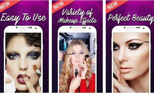 Aplikasi Make Up Edit Photo Camera Makeup