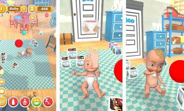 Game Perawatan Bayi permainan merawat bayi dari kecil sampai besar