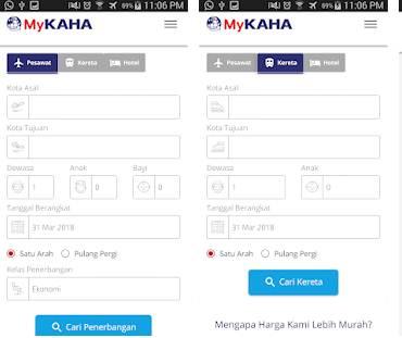 Aplikasi jasa layanan hotel online