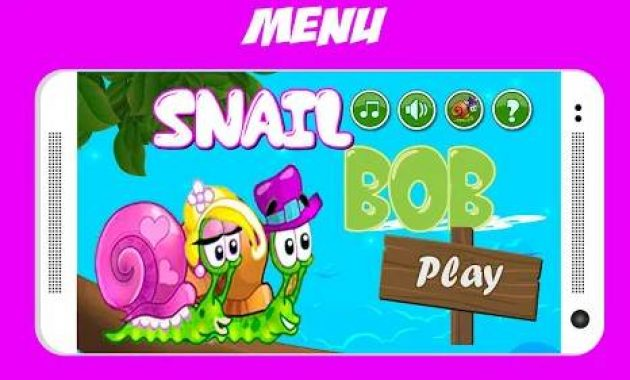 Game Siput Permainan Snail Bob 5