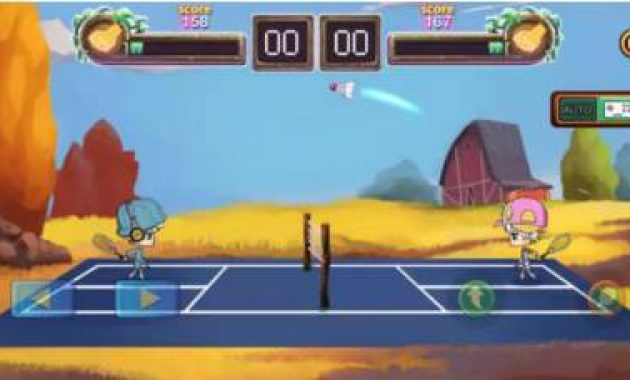 Game Bulutangkis Online Game Bulutangkis Liga Mod Apk