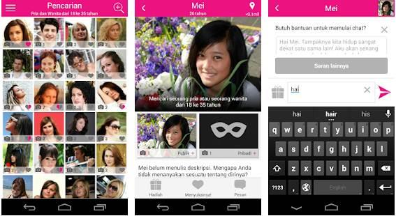 Aplikasi video chat android untuk dewasa