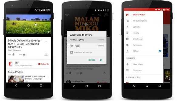 Cara Download Video di Aplikasi YouTube
