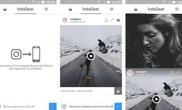 Aplikasi Download Video Instagram Untuk Android Aplikasi Download Video Instagram Dan Youtube