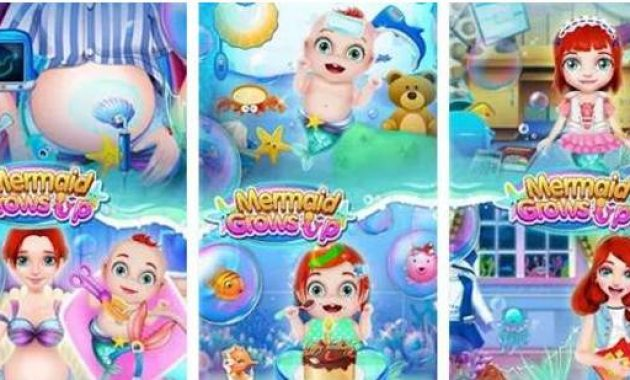 Game Putri Duyung Hamil Permainan Putri Duyung Dan Pangeran Permainan Putri Duyung Melahirkan