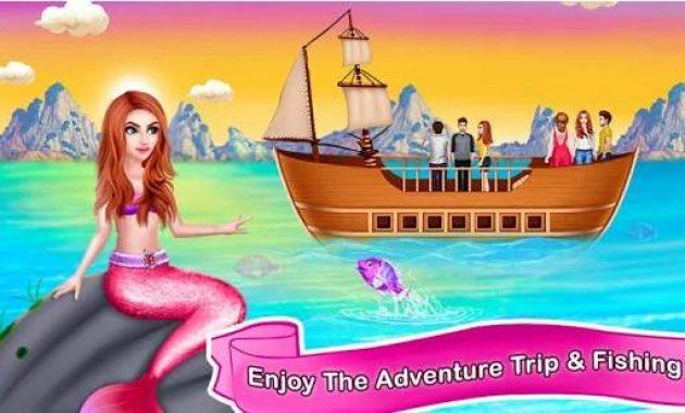 Game Putri Duyung Berpakaian Permainan Putri Duyung Kecil