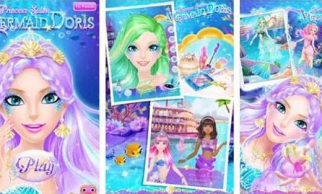 Game Putri Duyung Ariel Game Putri Duyung Berpakaian Game Putri Duyung Ariel